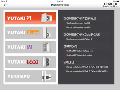 Hitachi application mobile 2